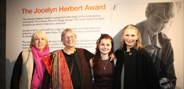 Chloe Quinn with Jocelyn Herbert's daughters credit Sheila Burent